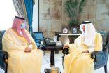 أمير منطقة مكة المكرمة يستقبل رئيس الهيئة العامة للموانئ المعُين حديثًا