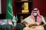 سمو أمير الجوف يستقبل مدير نادي الفروسية بمحافظة القريات