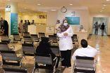 تدشين مركز لقاحات كورونا بمحافظة القطيف