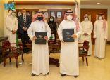 التخصصات الصحية توقع اتفاقية تعاون مع المركز السعودي لاستطلاعات الرأي
