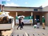 مركز الملك سلمان للإغاثة يوزع سلالاً غذائية في محافظة انجمينا بتشاد
