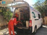 إسعاف المنية ينفذ 23 مهمة بتمويل من مركز الملك سلمان للإغاثة
