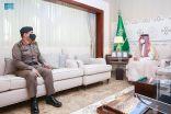 سمو نائب أمير الشرقية يستقبل مدير شرطة المنطقة