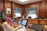 سمو أمير المدينة المنورة يرأس اجتماع اللجنة الرئيسة للدفاع المدني بالمنطقة