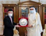 سعادة وزير الخارجية يستقبل سفير جمهورية أذربيجان لدى مملكة البحرين