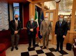 سفير مملكة البحرين لدى الجمهورية الإيطالية يجتمع مع عدد من المسؤولين في مجلس الشيوخ الإيطالي