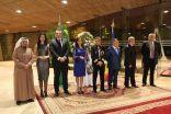 """"""" العيد الوطني لجمهورية رومانيا في السفارات بقصر طويق في الرياض بحضور أمير منطقة الرياض """"…"""