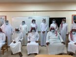 مدرسة وادي طوى الابتدائية بالهفوف تكرم معلميها المتميزين
