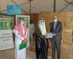 مركز الملك سلمان للإغاثة يسلم 100 طن من التمور هدية المملكة لمفوضية الأمن الغذائي في موريتانيا