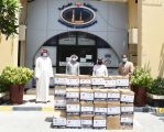 المحافظة الشمالية في مملكة البحرين تواصل توزيع السلال الرمضانية علي الاسر المتعففة